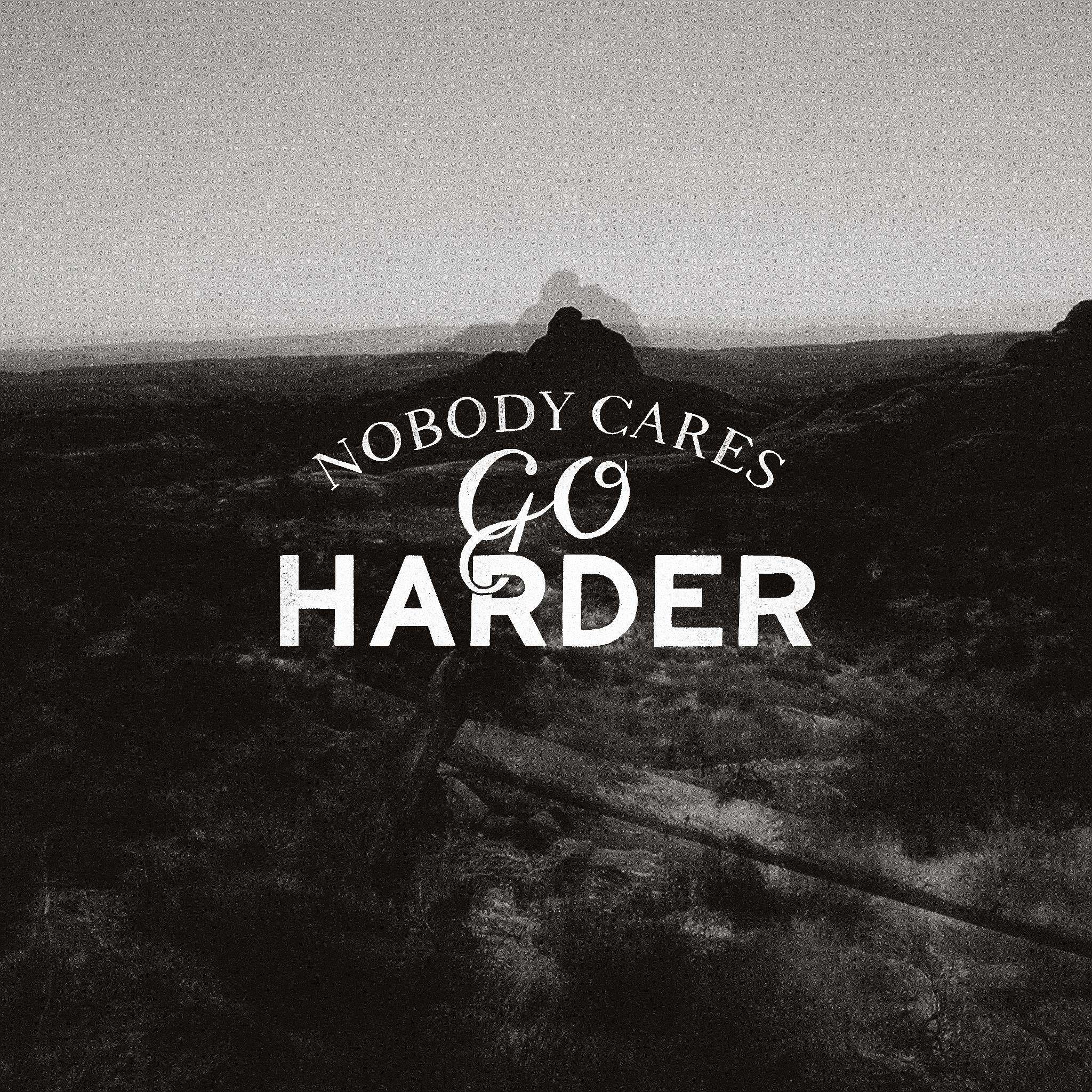 Go Harder iPad by Fudgegraphics